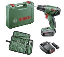 Bosch Akku-Schauber incl. Zubehör