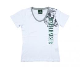 T-Shirt Damen weiss Gr. XS -XXL